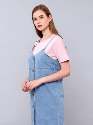 Camisole Denim Dress