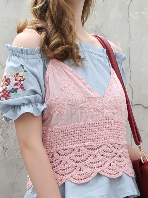 Crochet Outer Camisole
