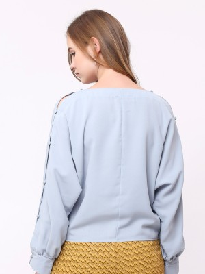 Buttons-Sleeve Top