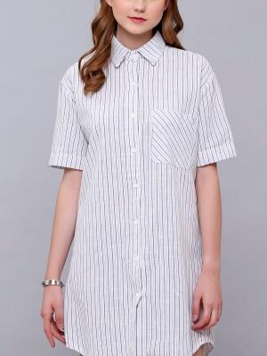 Stripes Shirt Dress