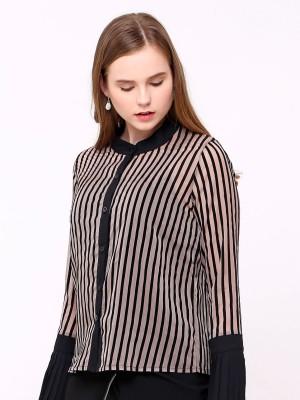 Sheer Stripes Shirt