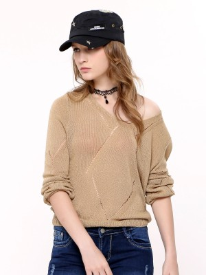 Knited Long Sleeves Top