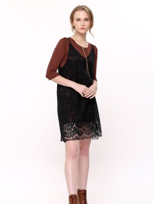 2-Pieces Set Knited Laces Camisole
