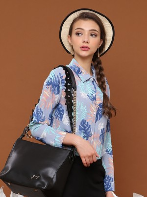 Summer Leaves Long Sleeves Shirt
