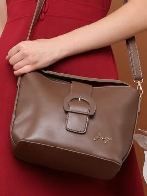 Big Buckle Tote Handbag