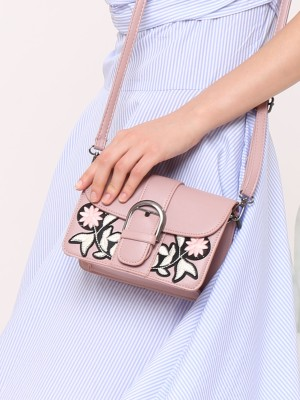 Flower Patch Mini Box Bag