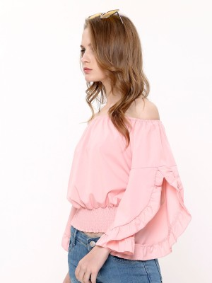 Slit sleeves Sabrina Top