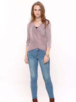 Scratch Skinny Jeans