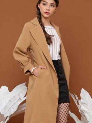 Waist-Tie Coat