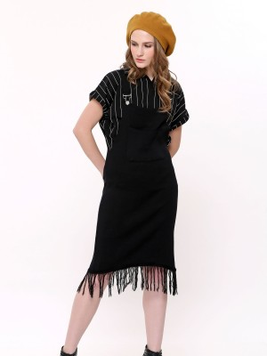 Knited Fringe Dungaree