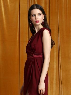 Tux Neckline Dress