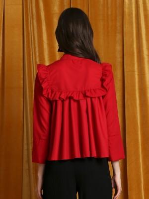 CNY Ruffled Shirt