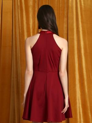 CNY Halter Mini Dress