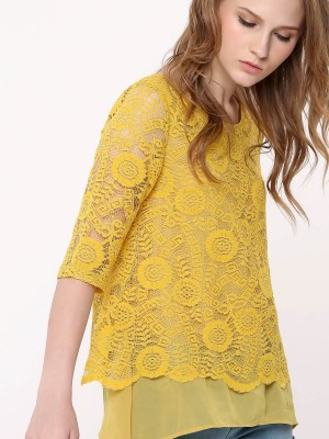 Laces Layered Top