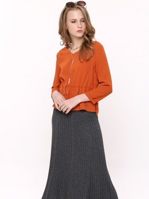 Woolen Knitted Skirt