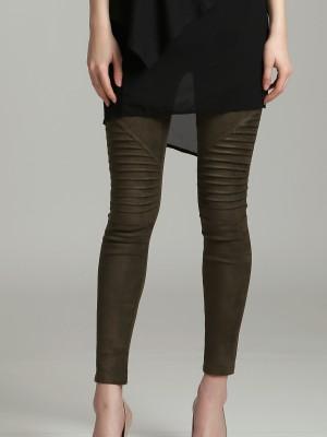 Textured Velvety Legging