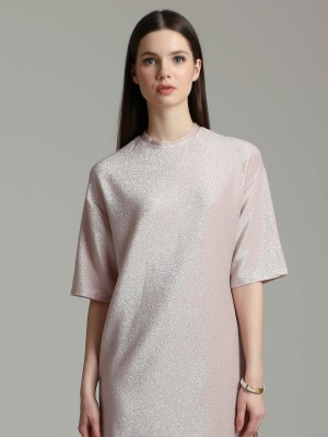 Mettalic Shift Dress