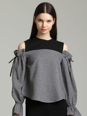 Long Sleeves Drop Shoulder Top