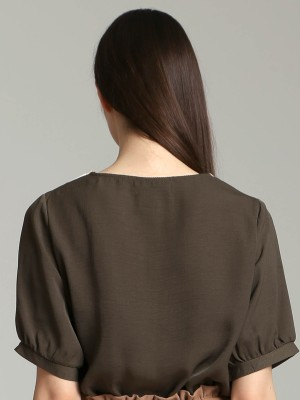 V Neck Loose Top