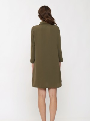 3/4 Sleeve shirt dress