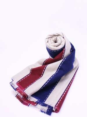 Multicolour Stripes Pashmina