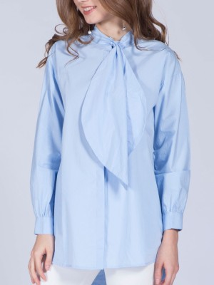 High Neck Long Sleveless Tunic