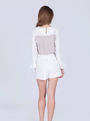 Double Long Sleveeless Top