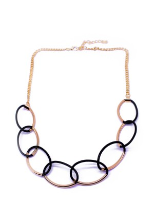 Linked Long Necklace