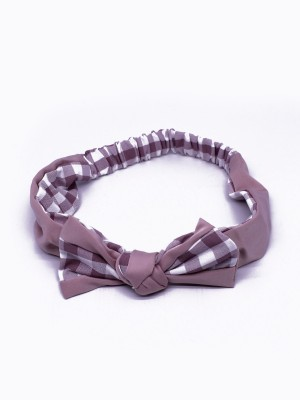 Gingham Bow Bandana