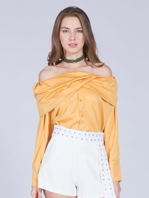 Wrap Shoulder Top