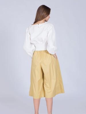 Loose Knee Length Skirt