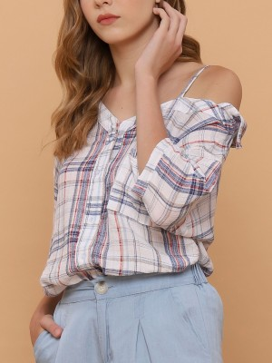 One Off Shoulder Shirt