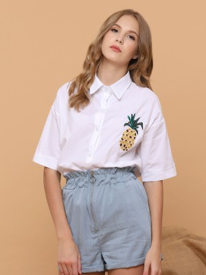 Pineapple Pocket Shirt