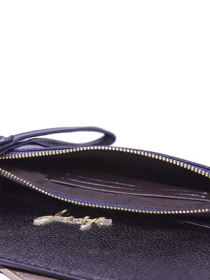 Alison Zipped Thin Wallet