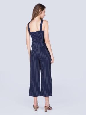 2-Pieces Set Stripes Top Pants