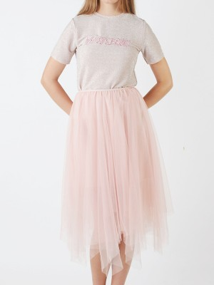 2 Piece Tutu Skirt Bling Top