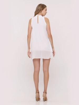 Ruffle-Layers Sleeveless Dress