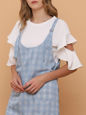 Frill Sleeves Top
