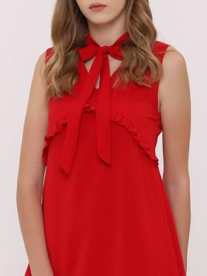 Sleeveless V-Neck Mini Dress