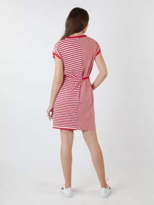 Pop Pattern Knitted Dress