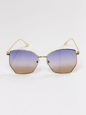 Asymetric Pentagon Sunglasses