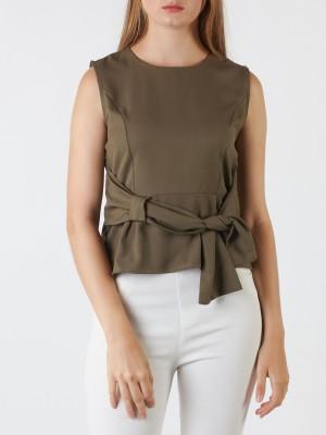 Side-Tie Sleeveless Top