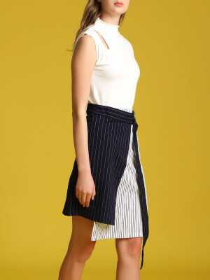 Shoulder Hole Shanghai Knitted Top