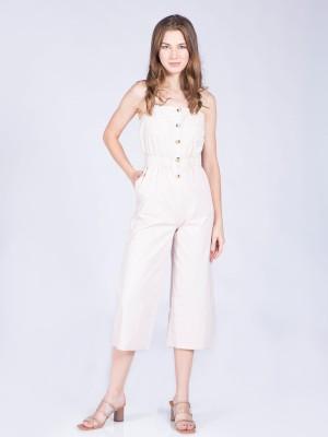 Buttoned-Up Jumpsuit