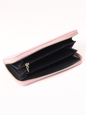 Basic Zipper Long Wallet