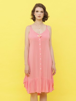 Ruffled Bottom Dress