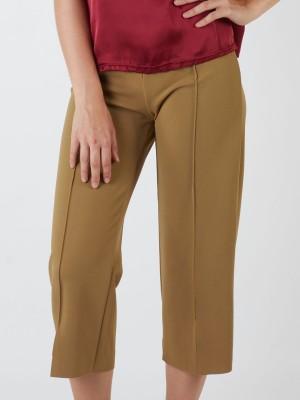 Half-Wrap Buttoned Pants