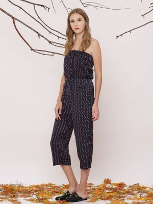 Printed Tube Jumpsuit