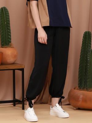 Ginie Silky Bottom-Tie Pants