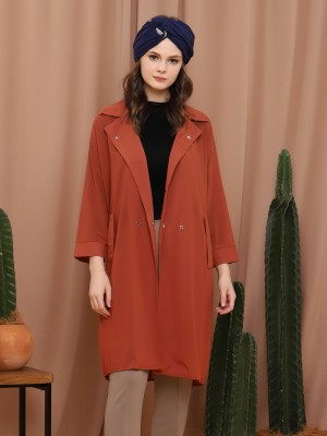 Long Sleeveless Parka Dress
